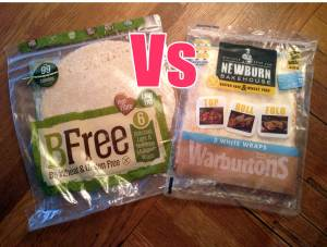 Newburn Bakehouse Square Wraps won my 'bread to bread' challenge