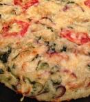 Frugal Frittata (gluten free £1 challenge)
