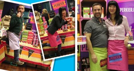 """PERK!ER founders, Steve & Ann """"bringing delight to the gluten free market"""""""