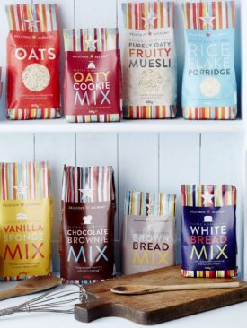 The Delicious Alchemy range in its funky new packaging