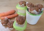 Little Sugar Free Carrot Cakes (GF, DF, SF, NF)