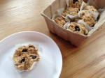 Blueberry, Banana & Oat Bites