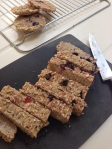 Baked Bircher Porridge Bars (DF, GF, EF, SF, NF)