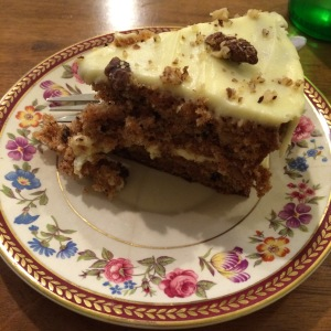 Excellent carrot cake