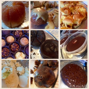 It wasn't all health and veggies in January! These are just some of the puddings I sampled whilst judging the Free From Food Awards