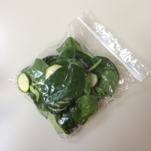 Keeping with the quick and easy theme - these homemade steamed veg bags make fresh