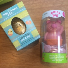The pig was staring at me, m'lud! Easter treats from GEH