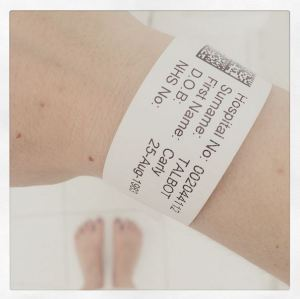 Low point: in hospital with a gallbladder attack!