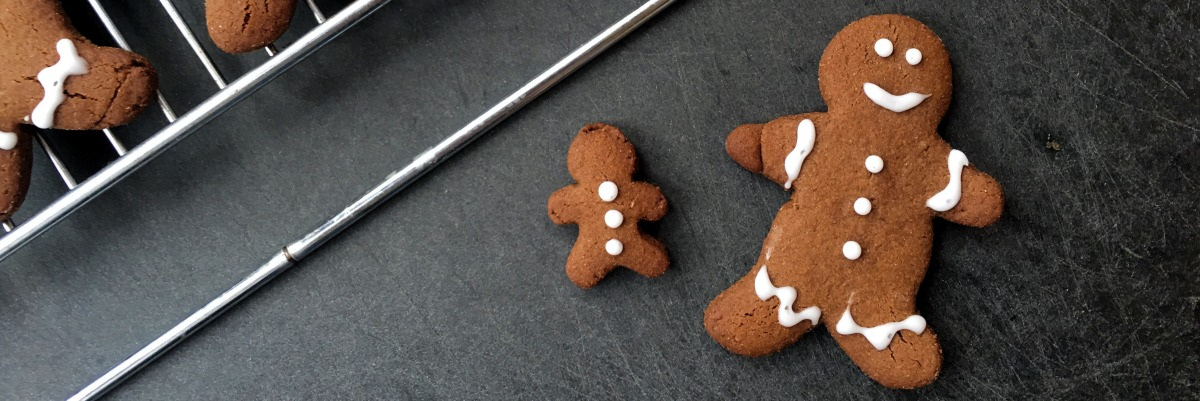 Yet another gluten free gingerbread person recipe